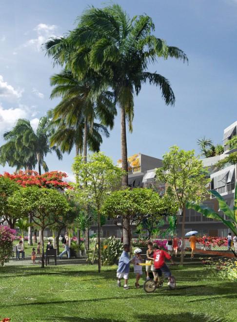 Mail de l 39 oc an indien aurel design urbain for Jardin urbain definition