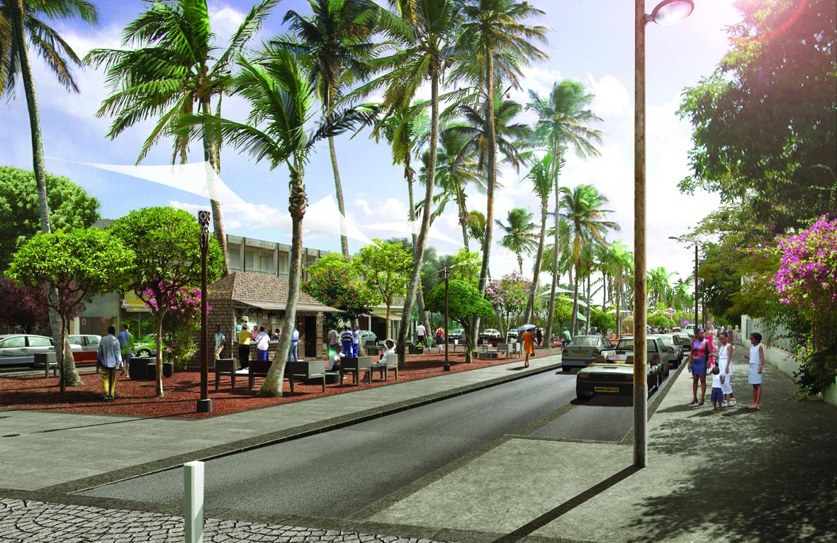 La r union amenagement la ville du port aurel design for Piscine du port marchand