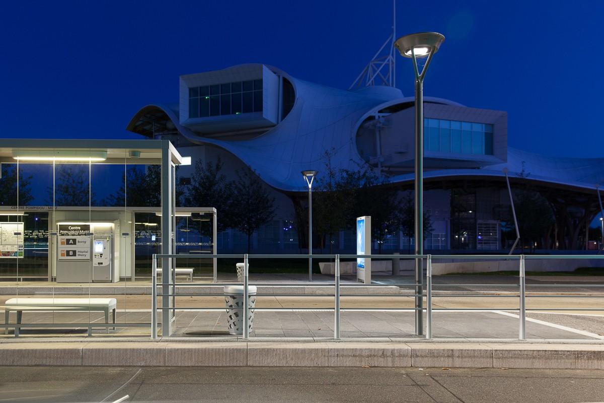 Metz, vue de nuit - Photographie Yann Monel